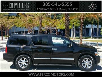 2007 Infiniti QX56 for sale in Miami, FL