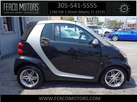 2012 Smart fortwo for sale in Miami, FL