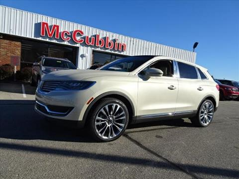 2016 Lincoln MKX for sale in Madison, IN