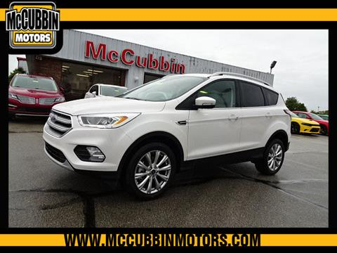 2017 Ford Escape for sale in Madison, IN