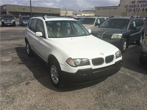 2004 BMW X3 for sale in Pasadena, TX