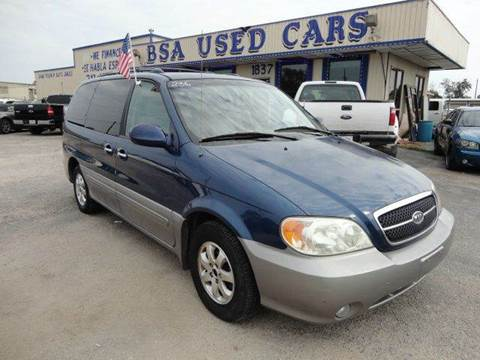 2005 Kia Sedona for sale in Pasadena, TX