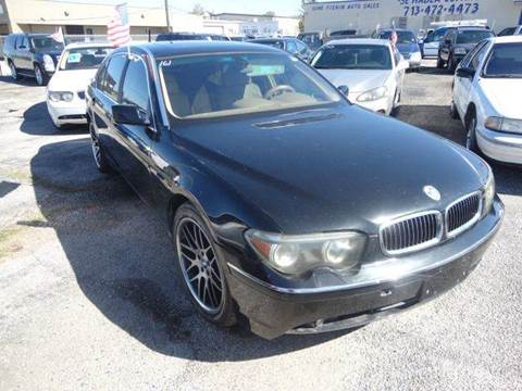 2002 BMW 7 Series for sale in Pasadena, TX