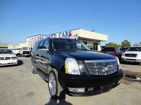 2007 Cadillac Escalade ESV for sale in Pasadena, TX