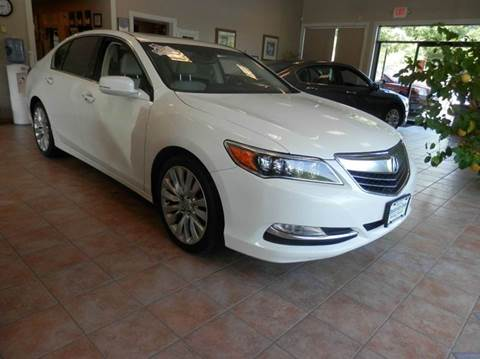 2015 Acura RLX for sale in Berlin, CT