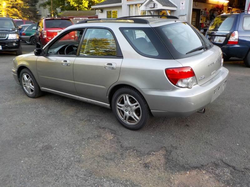 2005 Subaru Impreza Awd 25 Rs 4dr Sport Wagon In Somers Ct St
