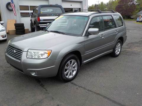 2007 Subaru Forester for sale in Somers, CT