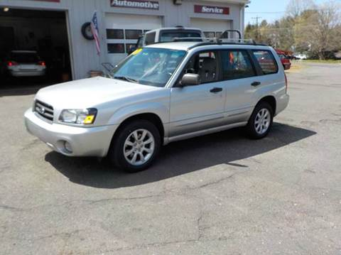 2005 Subaru Forester for sale in Somers, CT
