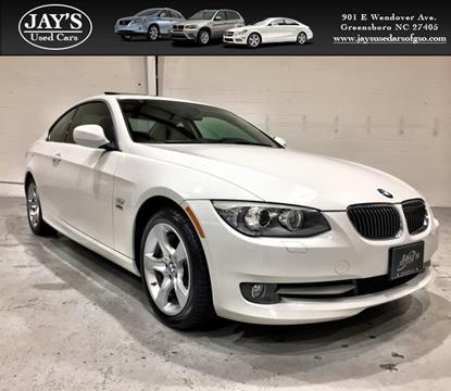 2013 BMW 3 Series for sale in Greensboro, NC