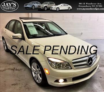 2011 Mercedes-Benz C-Class for sale in Greensboro, NC