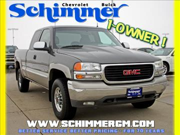 2001 GMC Sierra 2500 for sale in Mendota, IL