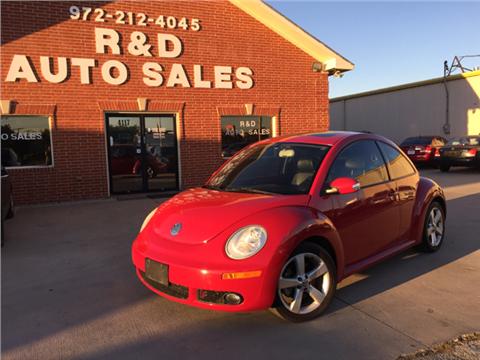 2007 Volkswagen New Beetle for sale in Garland, TX