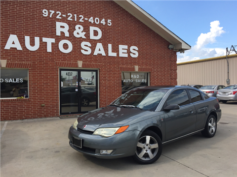 2007 Saturn Ion for sale in Garland, TX
