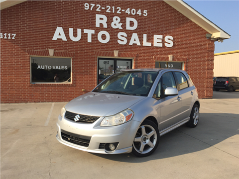 2012 Suzuki SX4 Sportback for sale in Garland, TX