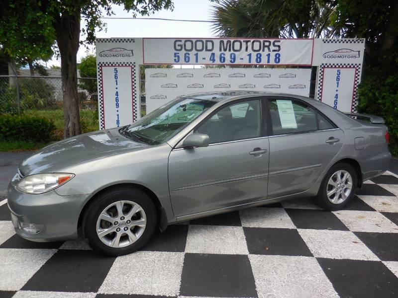 2006 toyota camry xle v6 4dr sedan in west palm beach fl good motors inc. Black Bedroom Furniture Sets. Home Design Ideas