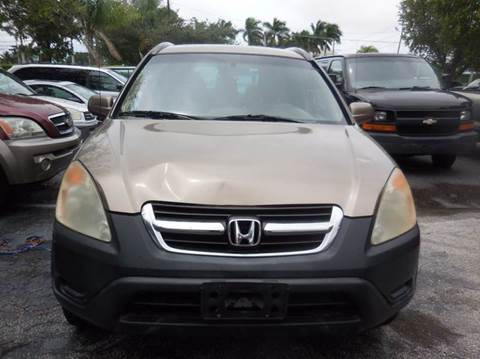 2003 Honda CR-V for sale in West Palm Beach, FL