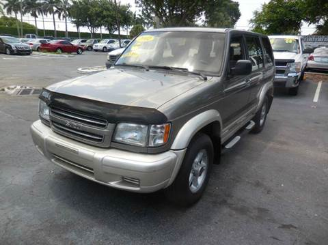 2002 Isuzu Trooper for sale in West Palm Beach, FL