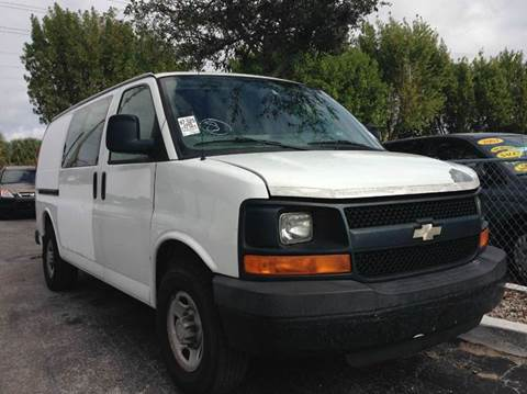 2008 Chevrolet Express Cargo for sale in West Palm Beach, FL
