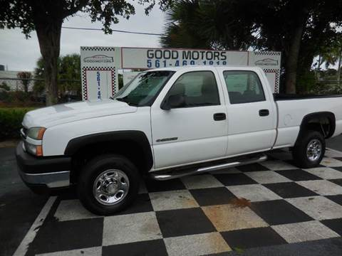 2006 Chevrolet Silverado 2500HD for sale in West Palm Beach, FL
