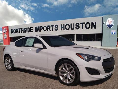 2013 Hyundai Genesis Coupe for sale in Spring, TX