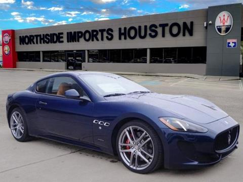 Maserati for sale carsforsale 2017 maserati granturismo for sale in spring tx sciox Gallery