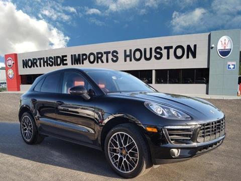 2016 Porsche Macan for sale in Spring, TX