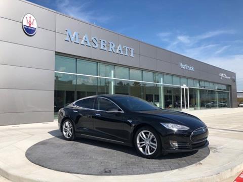 2014 Tesla Model S for sale in Spring, TX