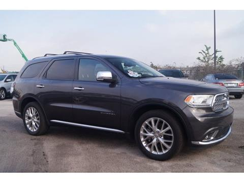 2015 Dodge Durango for sale in Spring, TX