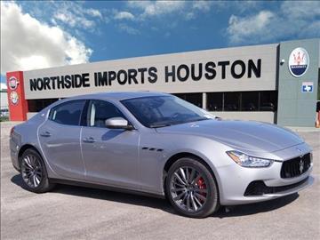 2017 Maserati Ghibli for sale in Spring, TX