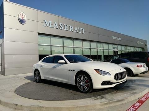 2018 Maserati Quattroporte for sale in Spring, TX