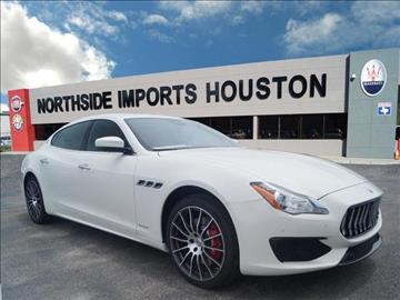2017 Maserati Quattroporte for sale in Spring, TX