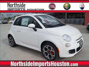 2016 FIAT 500 for sale in Spring, TX