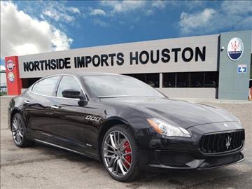 2017 Maserati Quattroporte for sale in Spring, TX