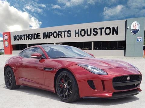 2015 Jaguar F-TYPE for sale in Spring, TX