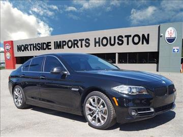 2016 BMW 5 Series for sale in Spring, TX