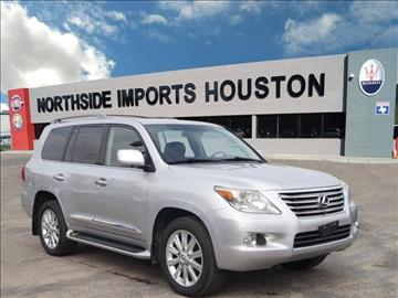 2008 Lexus LX 570 for sale in Spring, TX