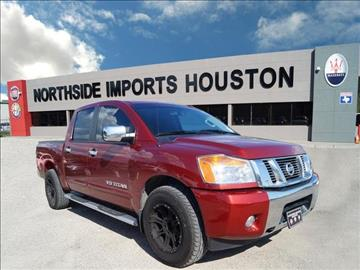 2014 Nissan Titan for sale in Spring, TX