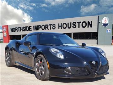 Alfa romeo 4c for sale for Frontier motors inc pensacola fl
