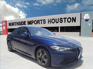 2017 Alfa Romeo Giulia for sale in Spring, TX