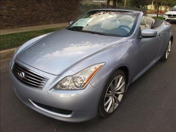 2010 Infiniti G37 Convertible for sale in North Hollywood, CA