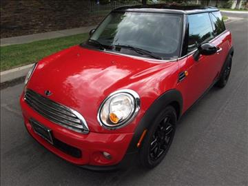 2012 MINI Cooper Hardtop for sale in North Hollywood, CA