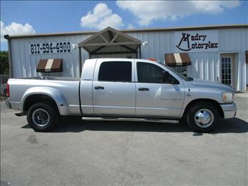 2006 Dodge Ram Pickup 3500 for sale in Weatherford, TX