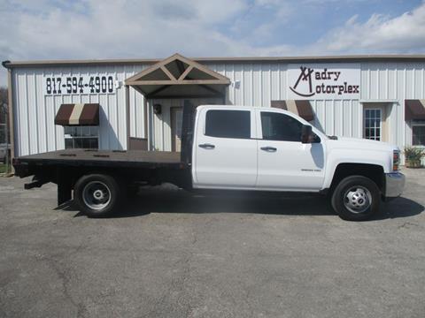 2017 Chevrolet Silverado 3500HD CC for sale in Weatherford, TX