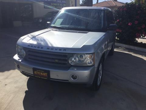 2007 Land Rover Range Rover for sale in Lynwood, CA
