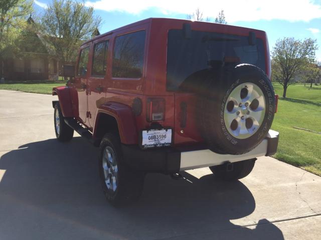 2014 Jeep Wrangler Unlimited Sahara 4x4 4dr SUV - Amarillo TX