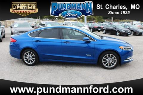 2017 Ford Fusion Energi for sale in Saint Charles MO