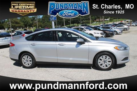 2014 Ford Fusion for sale in Saint Charles MO