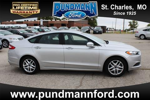 2013 Ford Fusion for sale in Saint Charles, MO