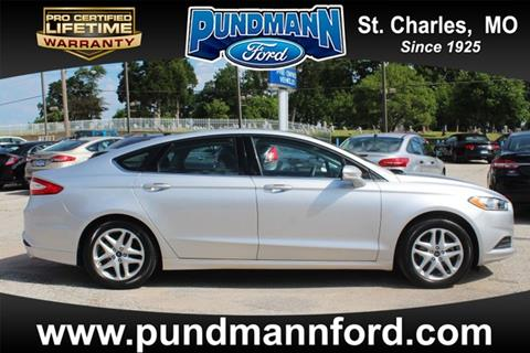 2014 Ford Fusion for sale in Saint Charles, MO
