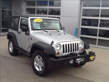 2012 Jeep Wrangler for sale in Beloit, WI